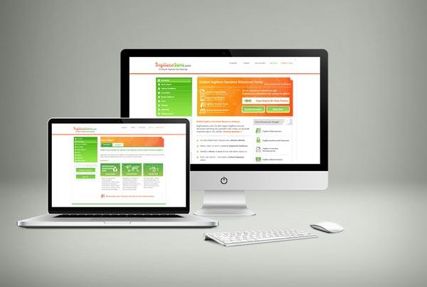 ingilizcesoru.com Web Sitesi Tasarımı