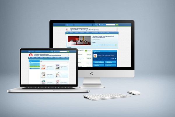 Sağlıkta Kalite ve Akreditasyon Web Sitesi Tasarımı