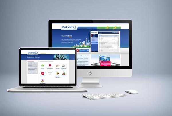 MaliyetBul Web Sitesi Tasarımı