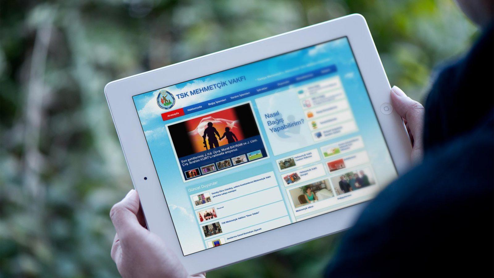 mehmetcik vakfı web sitesi tasarımı 02
