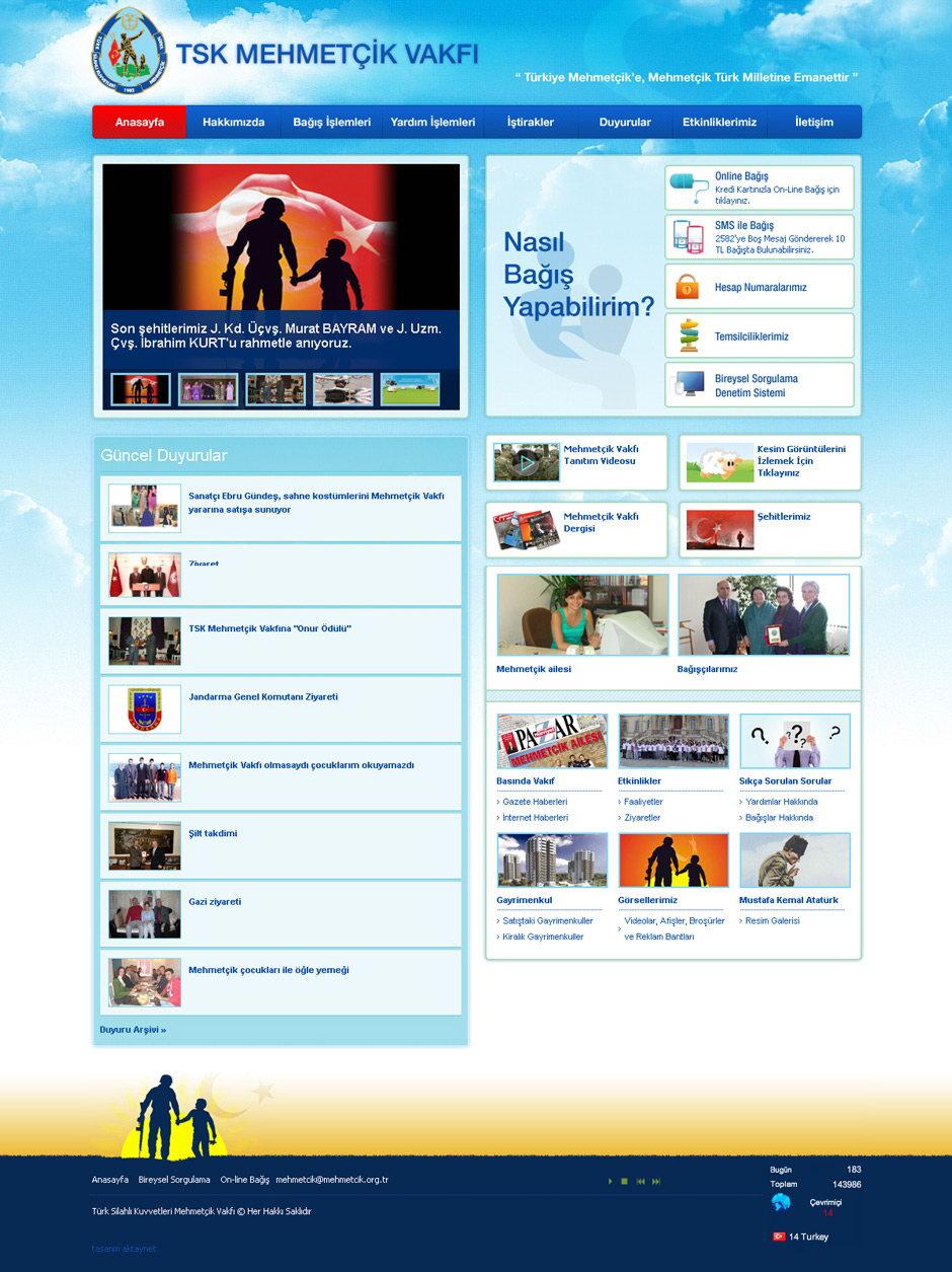 mehmetcik vakfı web sitesi tasarımı 04