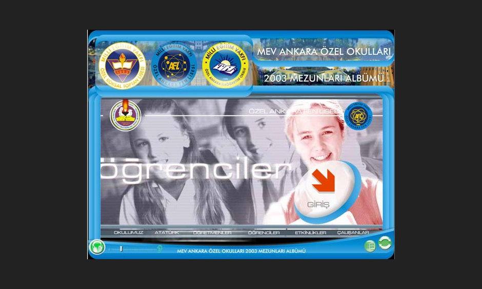 MEV Liseleri Yıllık CD Tasarımı 01