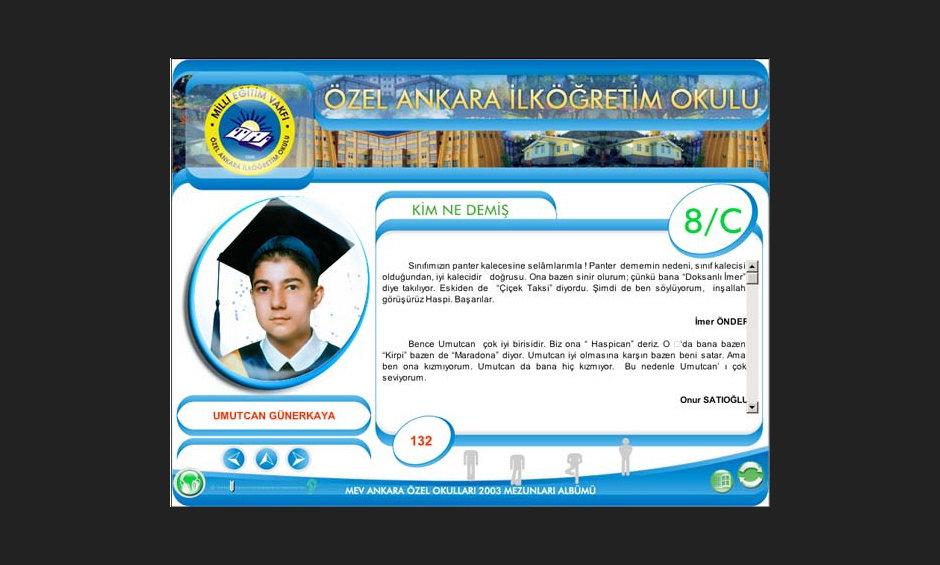 MEV Liseleri Yıllık CD Tasarımı 04