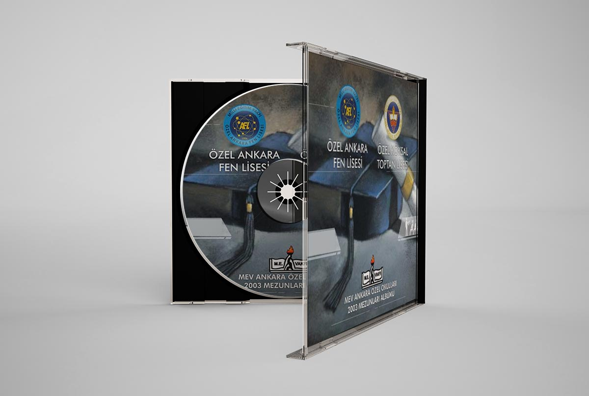 mev liseleri yıllık cd tasarımı