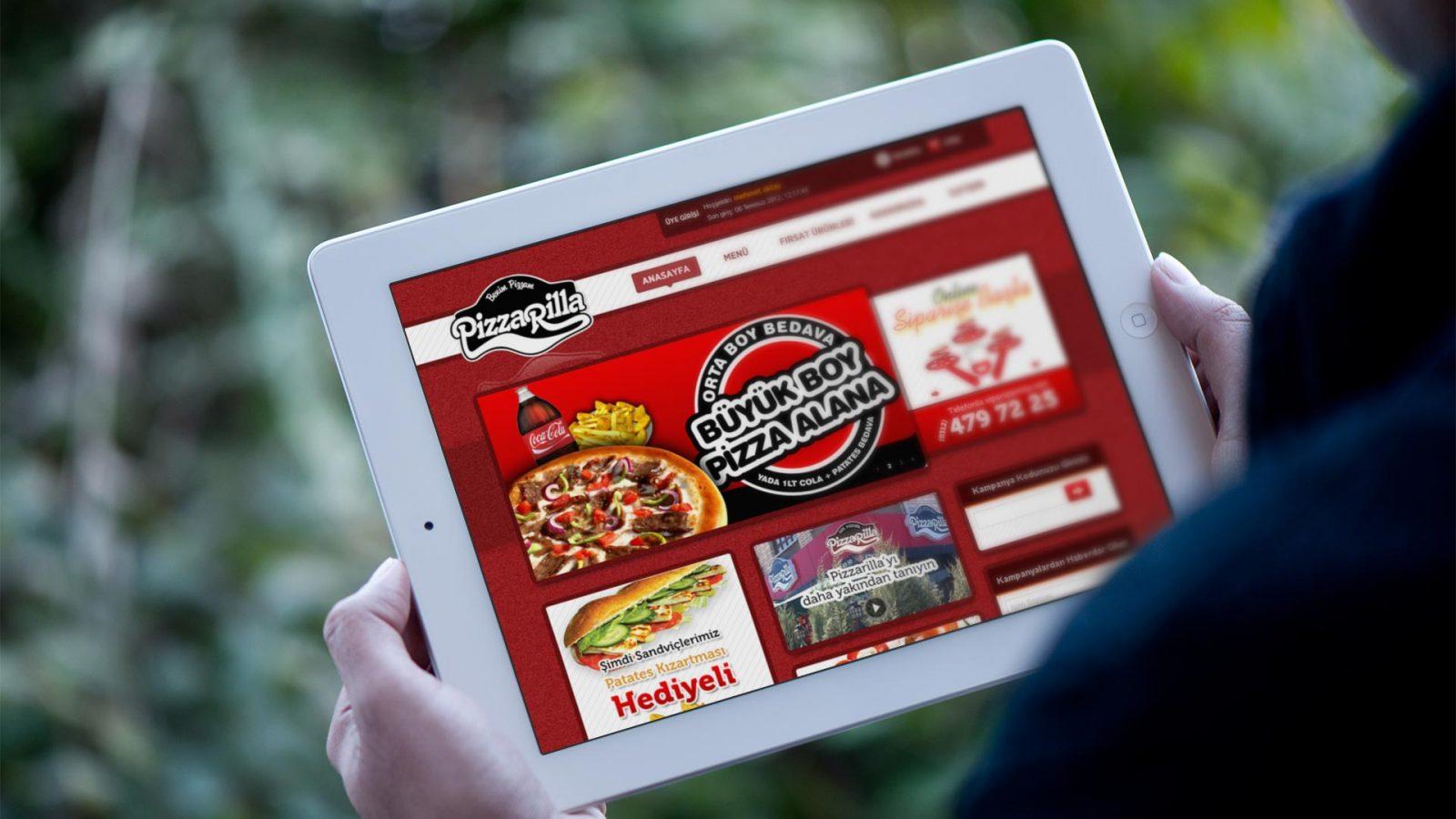 pizzarella web sitesi tasarımı 02