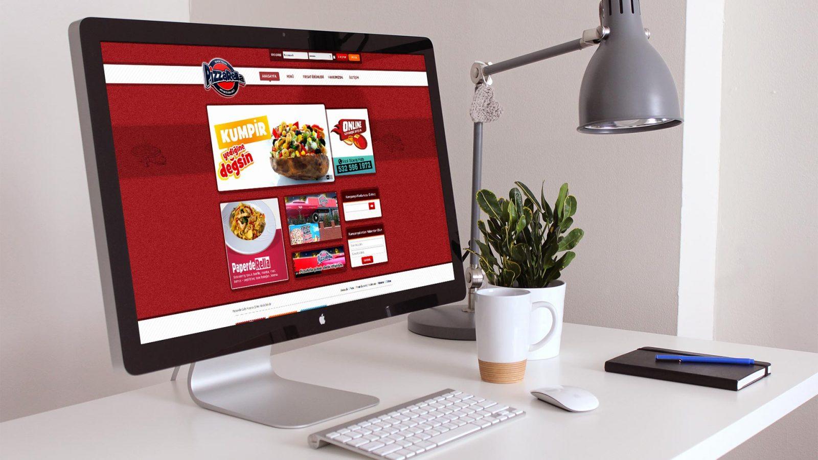 pizzarella web sitesi tasarımı 03
