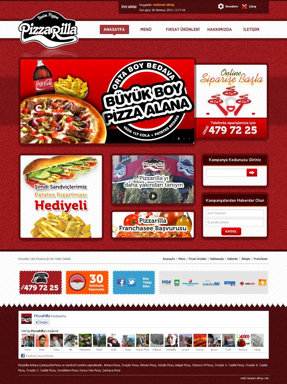 pizzarella web sitesi tasarımı 04