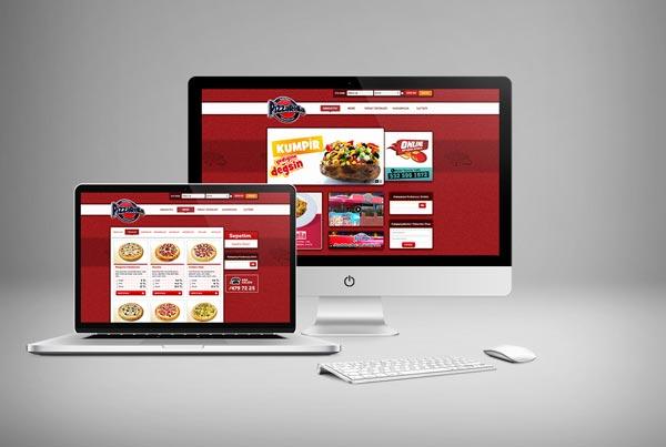 Pizzarella Web Sitesi Tasarımı