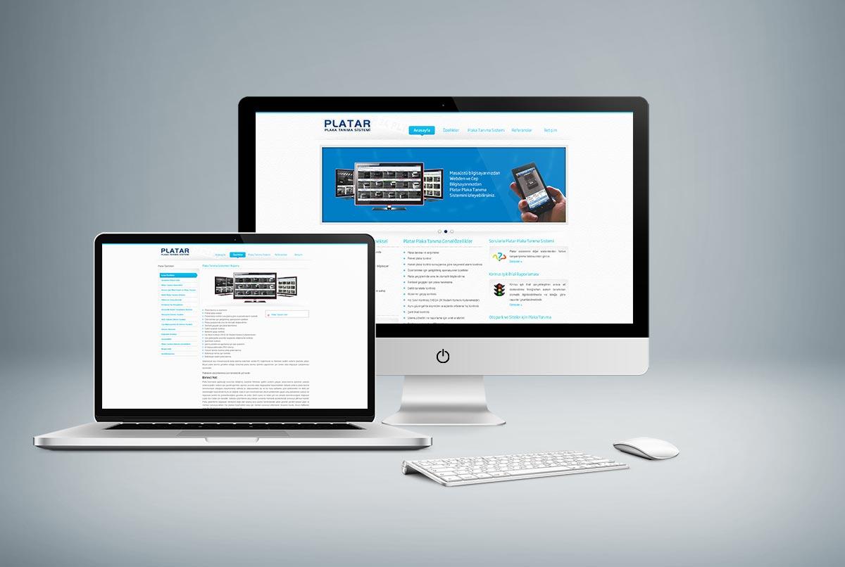 Platar Plaka Tanıma Sistemi Web Sitesi Tasarımı