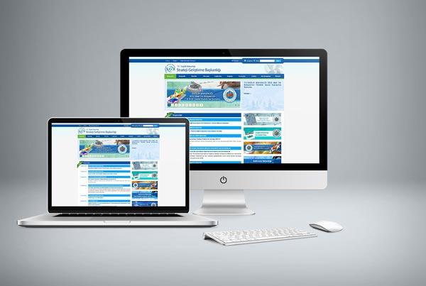 T.C Sağlık Bakanlığı Strateji Geliştirme Başkanlığı Web Sitesi Tasarımı