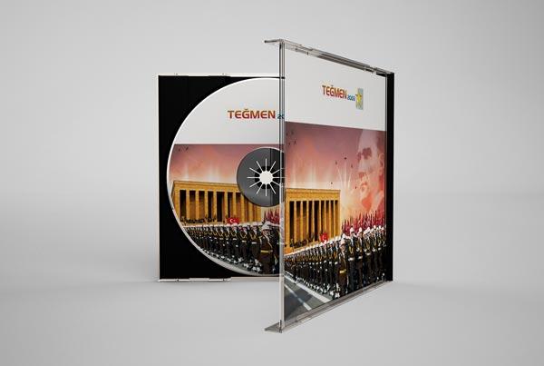 Teğmen 2003 Yıllık Andaç CD Tasarımı