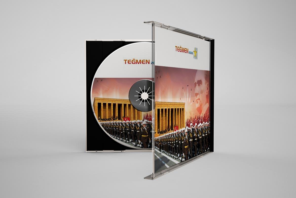 Teğmen 2003 yıllık cd tasarımı
