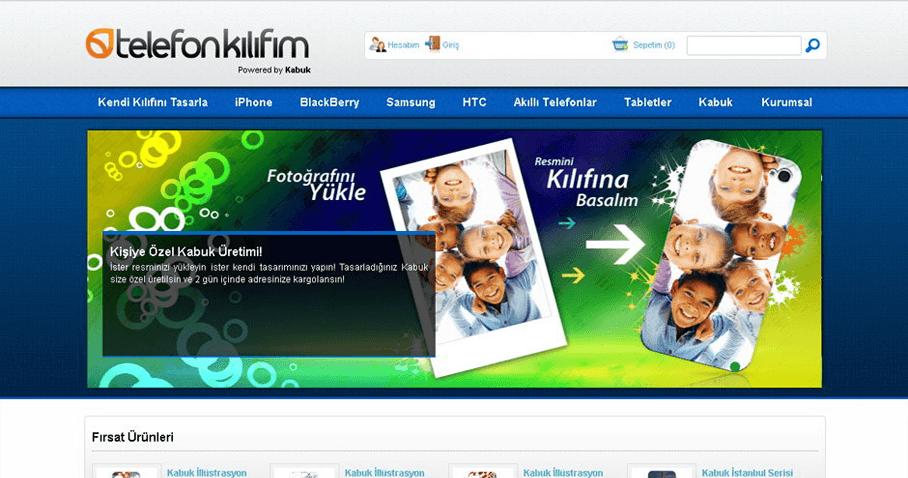 Telefon Kılıfım E-Ticaret Web Sitesi