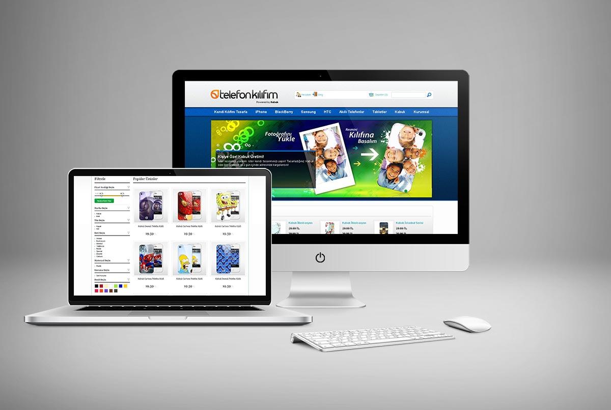 Telefon Kılıfım e-ticaret Web Sitesi Tasarımı