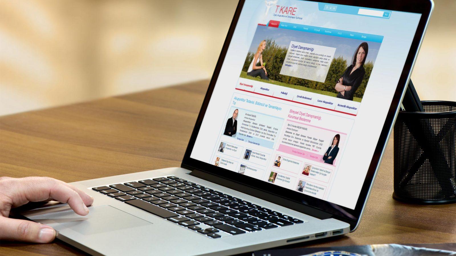 tkare diyet web sitesi tasarımı 01
