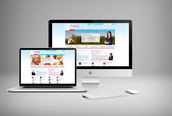 TKare Diyet Web Sitesi Tasarımı