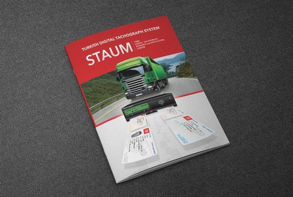 Türktrust Staum Broşür Tasarımı