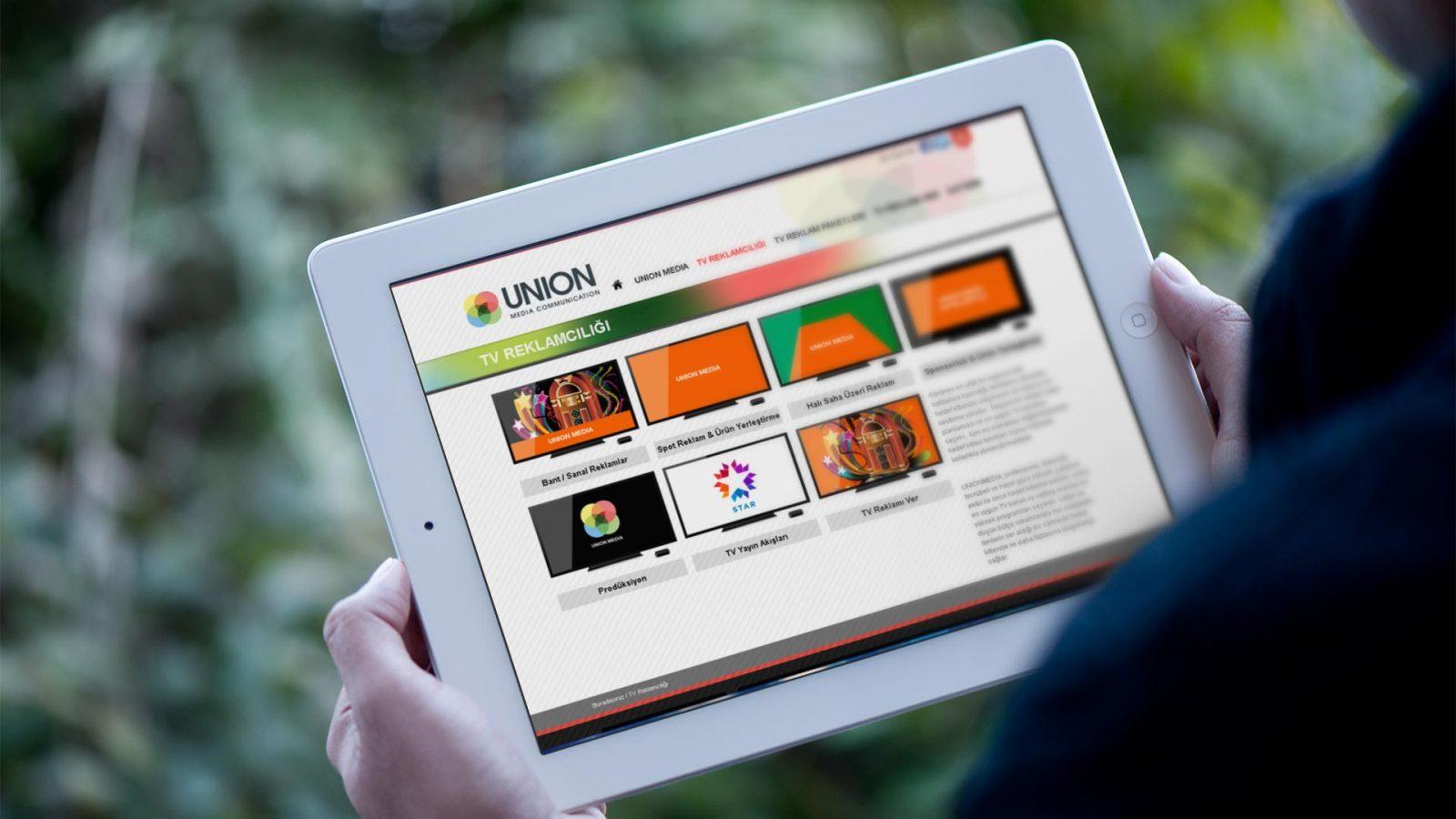 union media web sitesi tasarımı 02