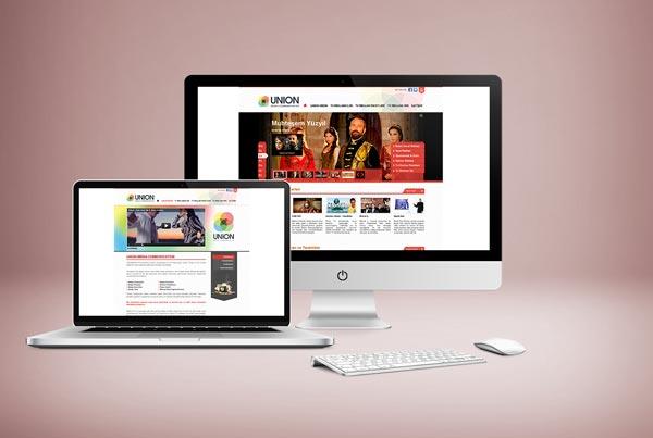 Union Media Web Sitesi Tasarımı