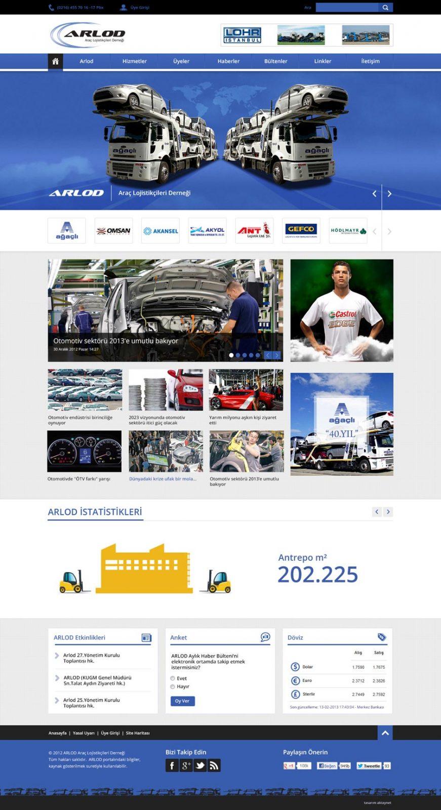 Arlod Responsive Web Sitesi Tasarımı 5
