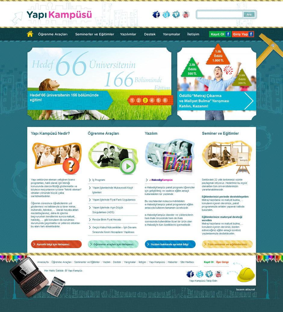 yapı kampüsü web sitesi tasarımı 04