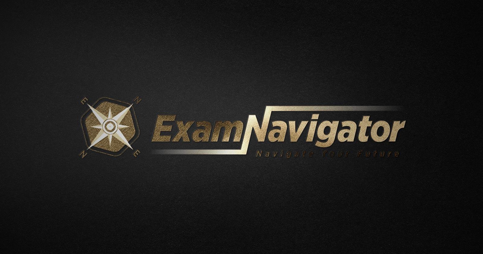 exam navigator logo tasarımı 01