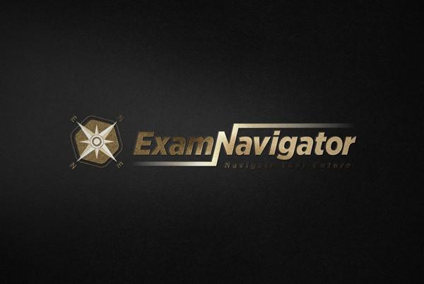 ExamNavigator Logo Tasarımı