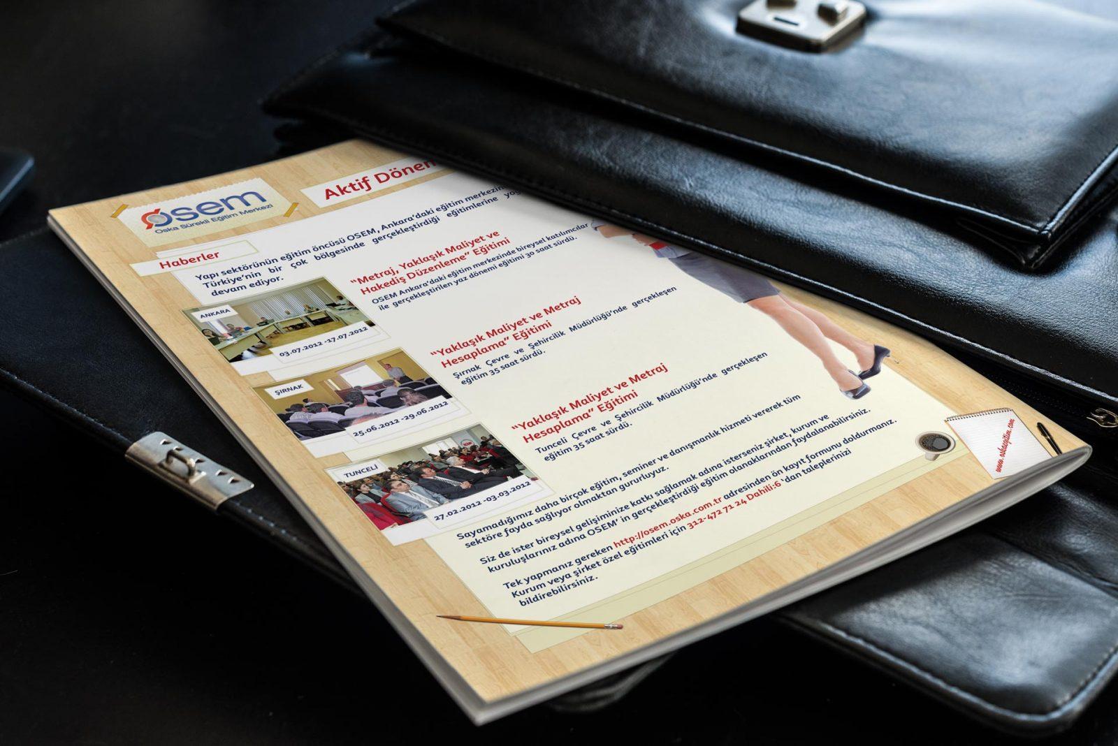oska basılı bülten tasarımı ekim 2012 05