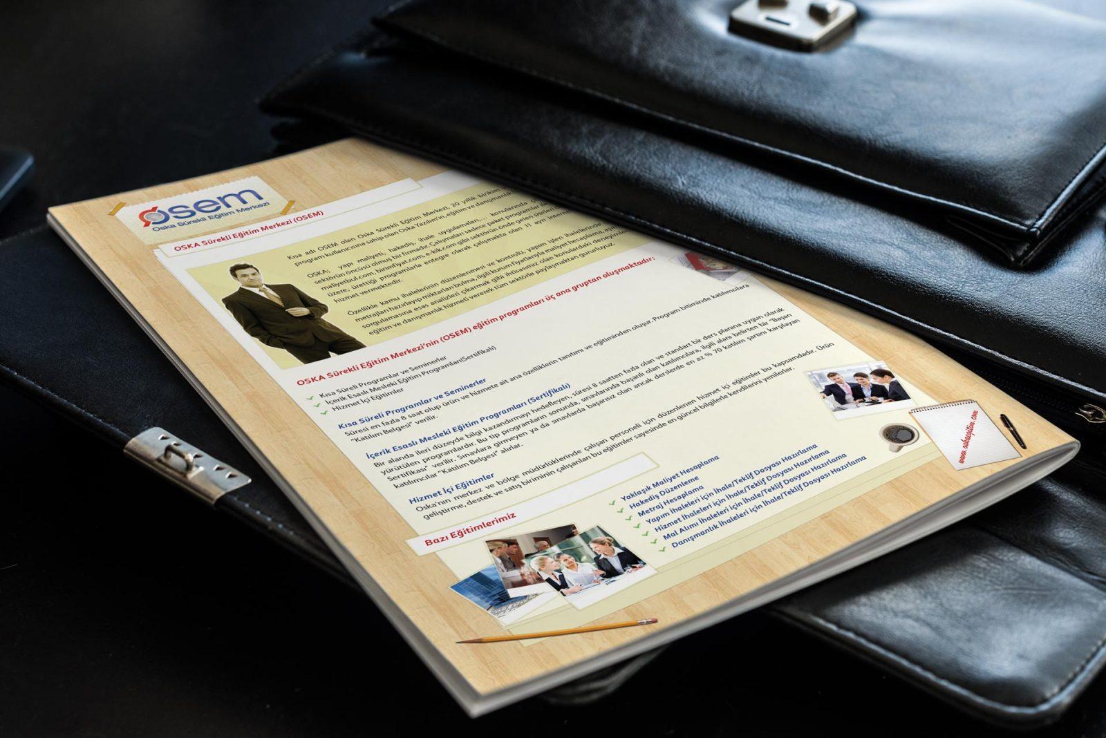 oska basılı bülten tasarımı eylül 2011 05