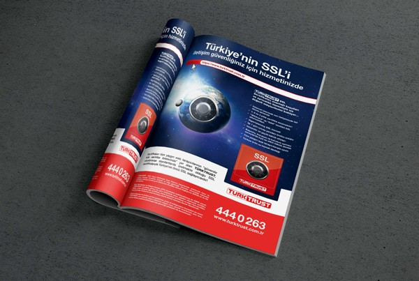 Türktrust Dergi Sayfası Tasarımları