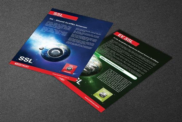Türktrust Flyer Tasarımları