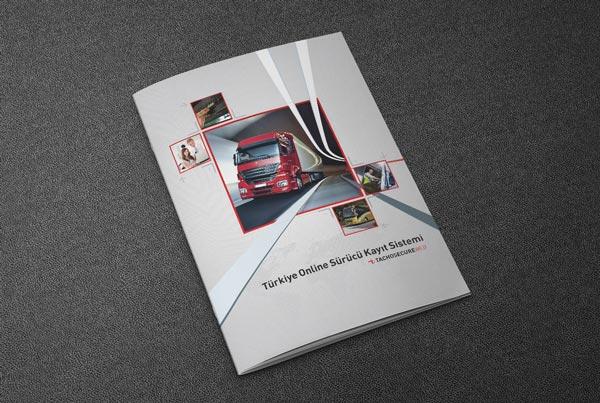 Türktrust Tachosecure Web Broşür Tasarımı