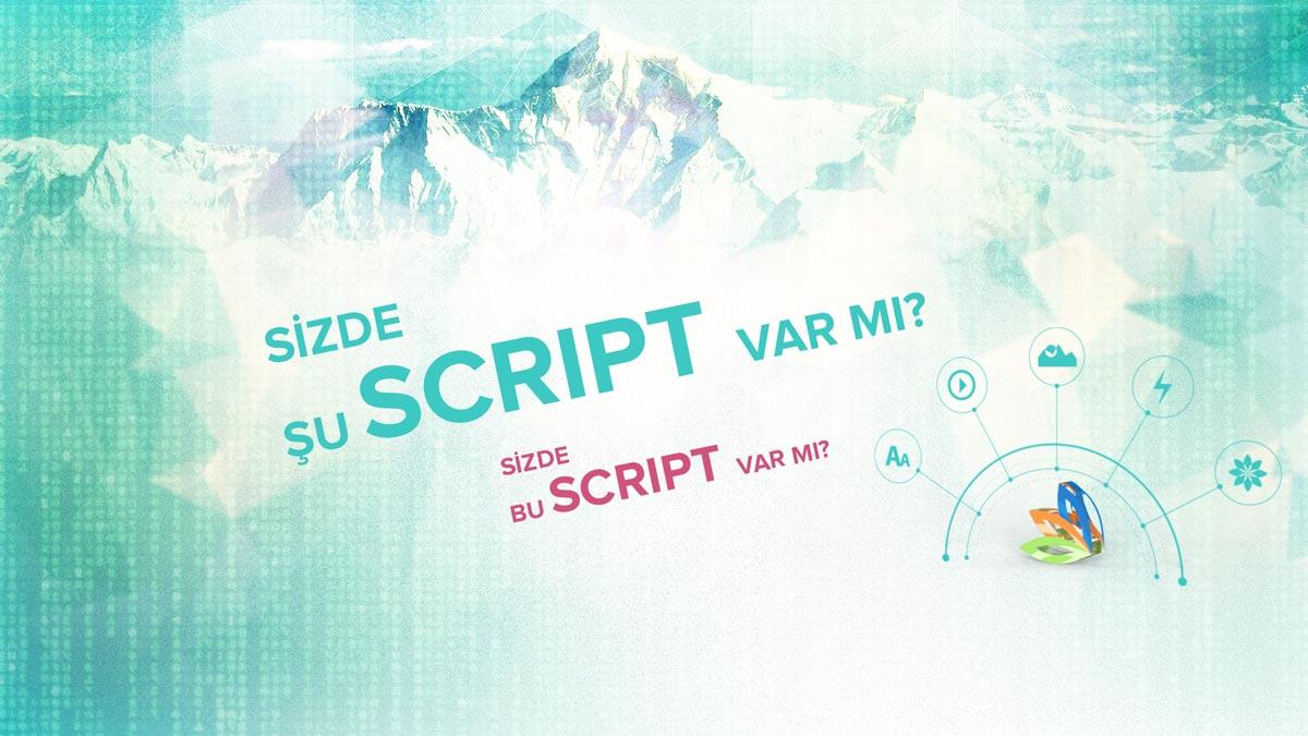 Şu script var mı?