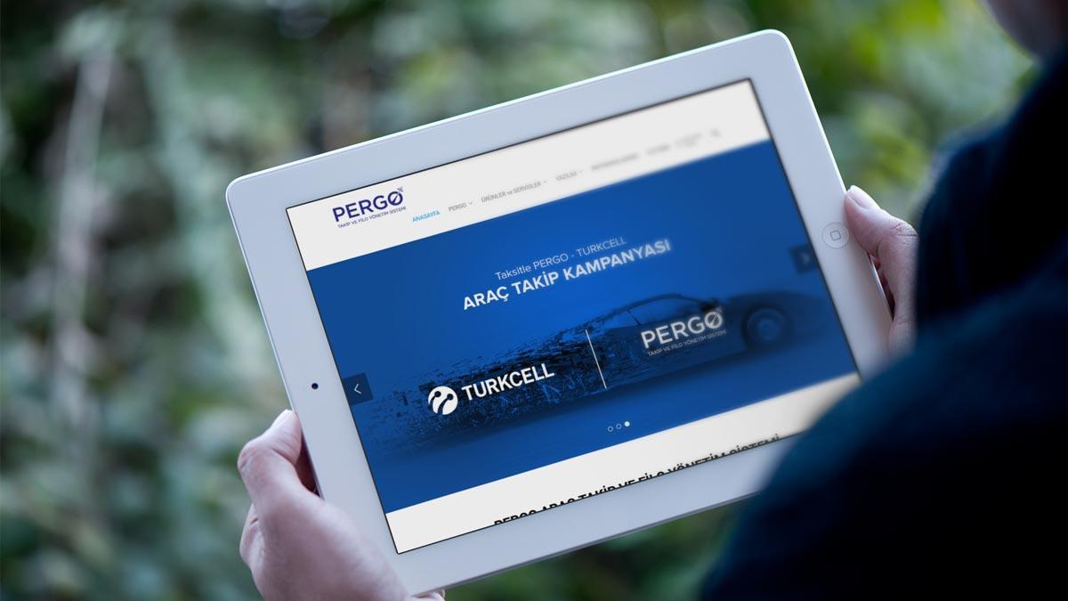 Pergo Web Sitesi Tasarımını yeniledik