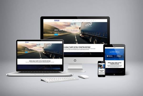 Pergo Araç Takip ve Güvenlik Web Sitesi Tasarımı