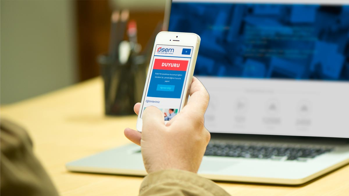 Osem responsive web sitesi tasarımı 01