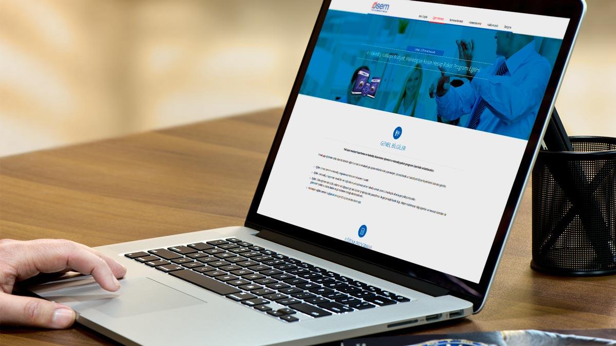 Osem responsive web sitesi tasarımı 02