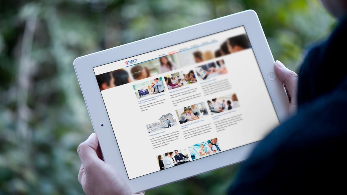 Osem responsive web sitesi tasarımı 03