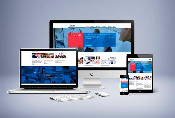 Oska Eğitim (OSEM) Web Sitesi Tasarımı