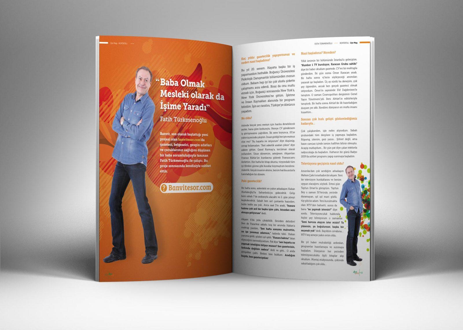 DytMagazin Dergi Tasarımı 04