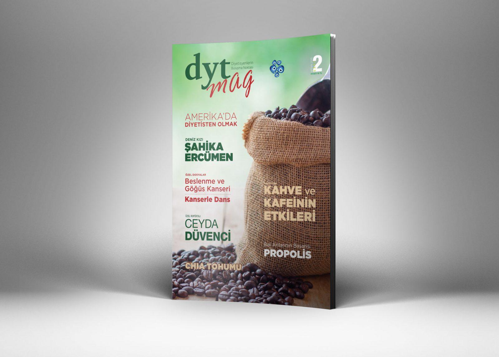 DytMagazin Dergi Tasarımı Sayı 2