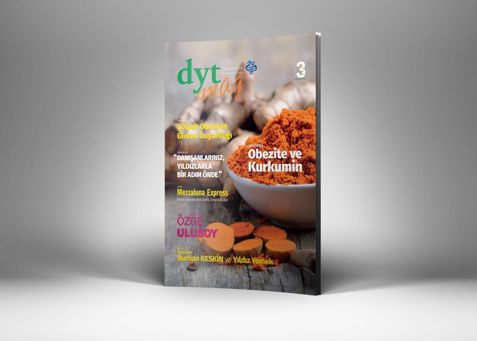 DytMagazin Dergi Tasarımı Sayı 3