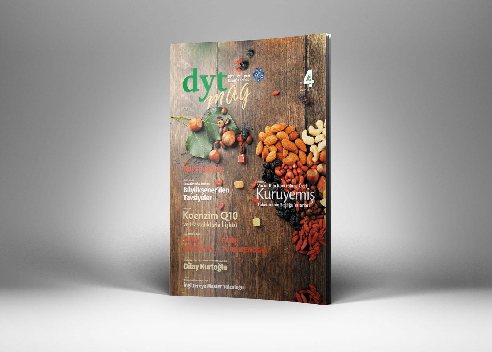 DytMagazin Dergi Tasarımı Sayı 4