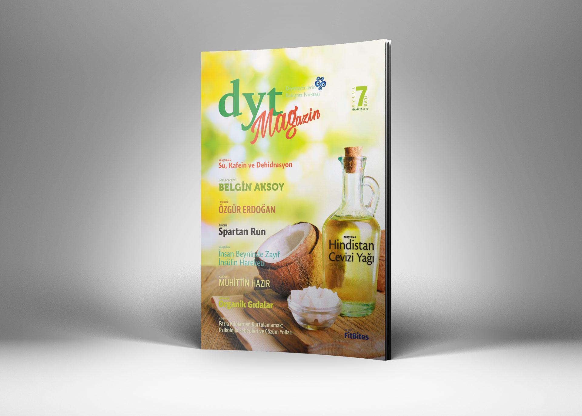 DytMagazin Dergi Tasarımı Sayı 7