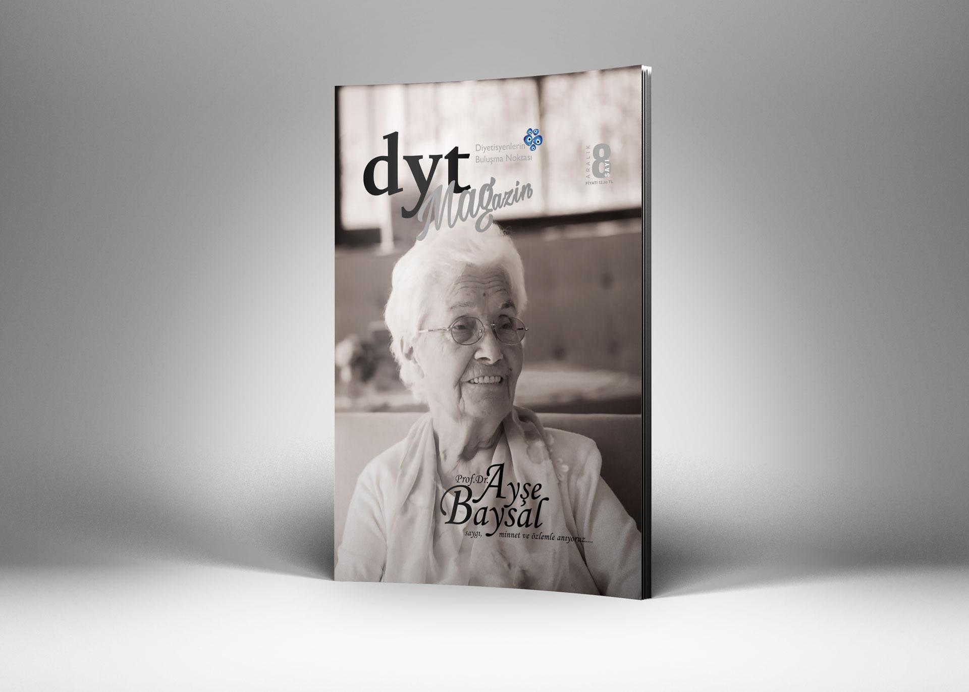 DytMagazin Dergi Tasarımı Sayı 8