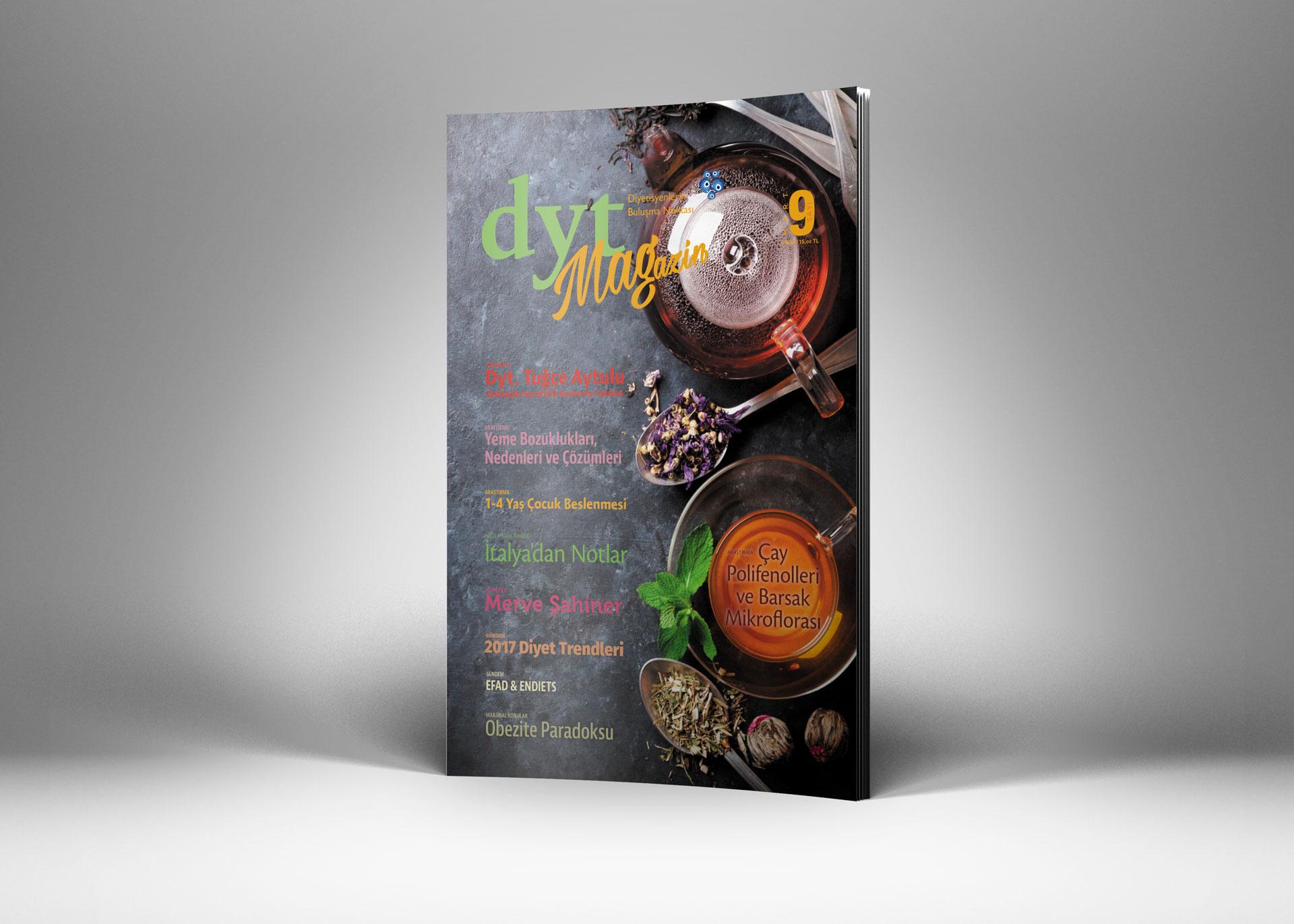 DytMagazin Dergi Tasarımı Sayı 9