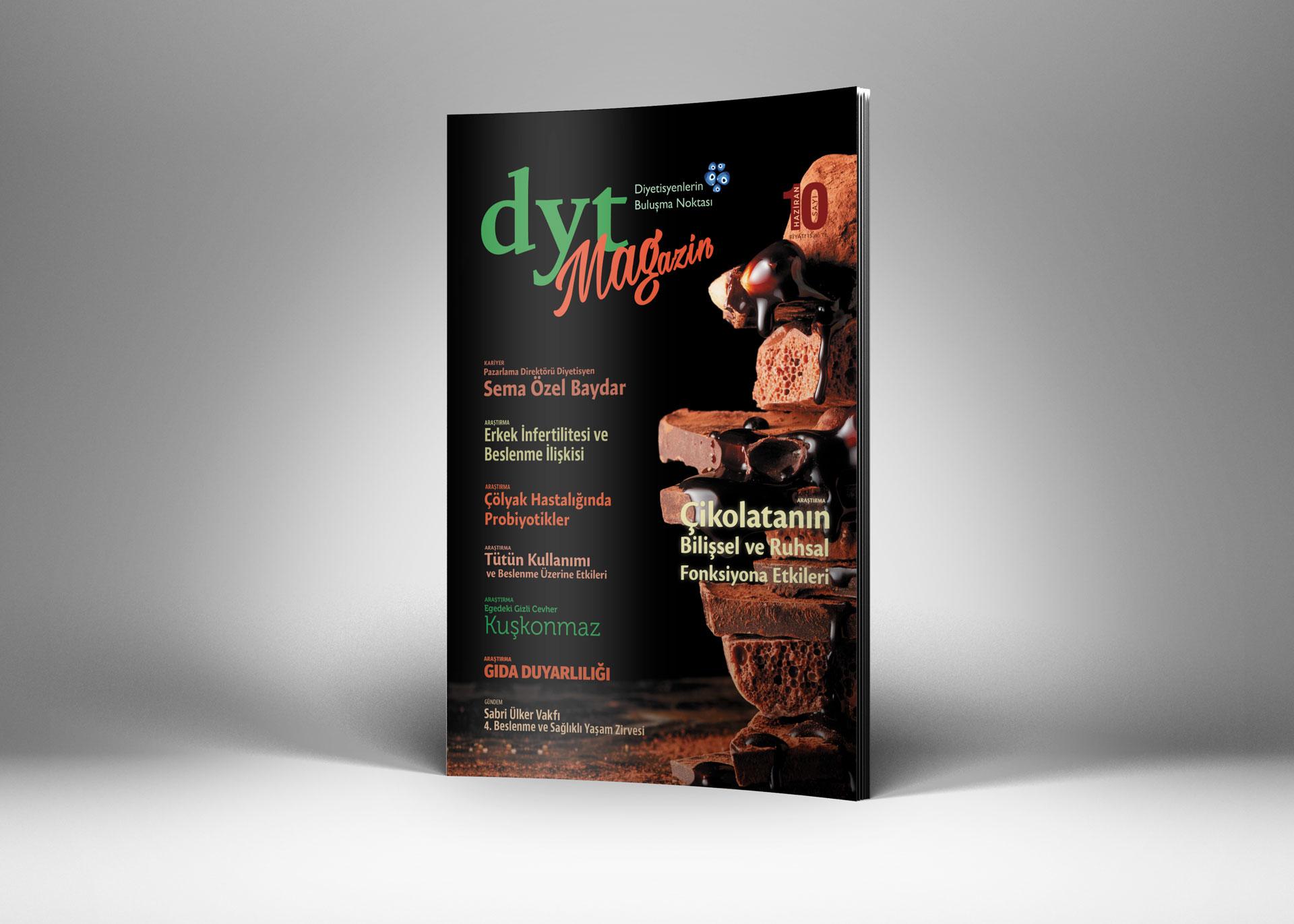 DytMagazin Dergi Tasarımı Sayı 10