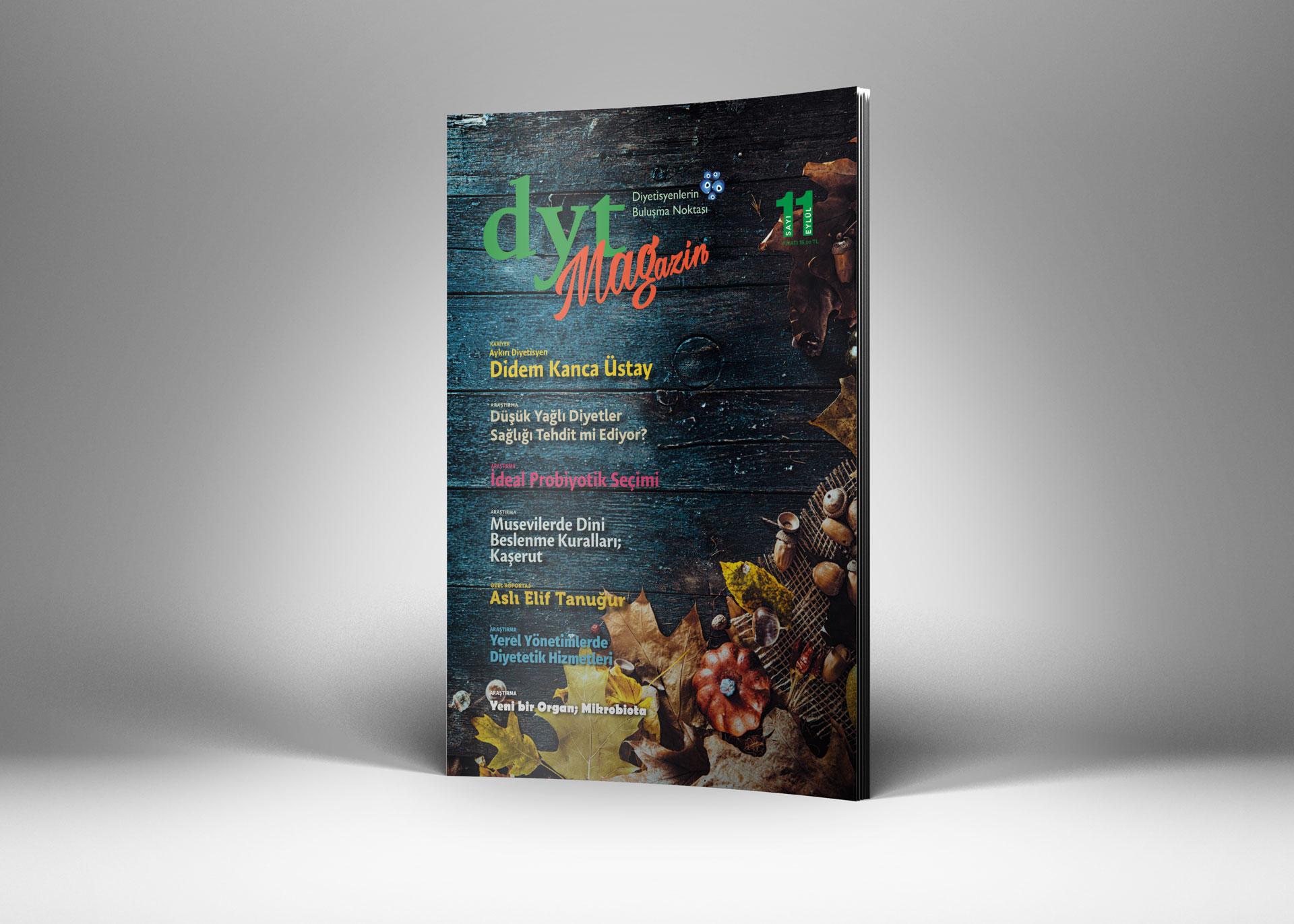 DytMagazin Dergi Tasarımı Sayı 11