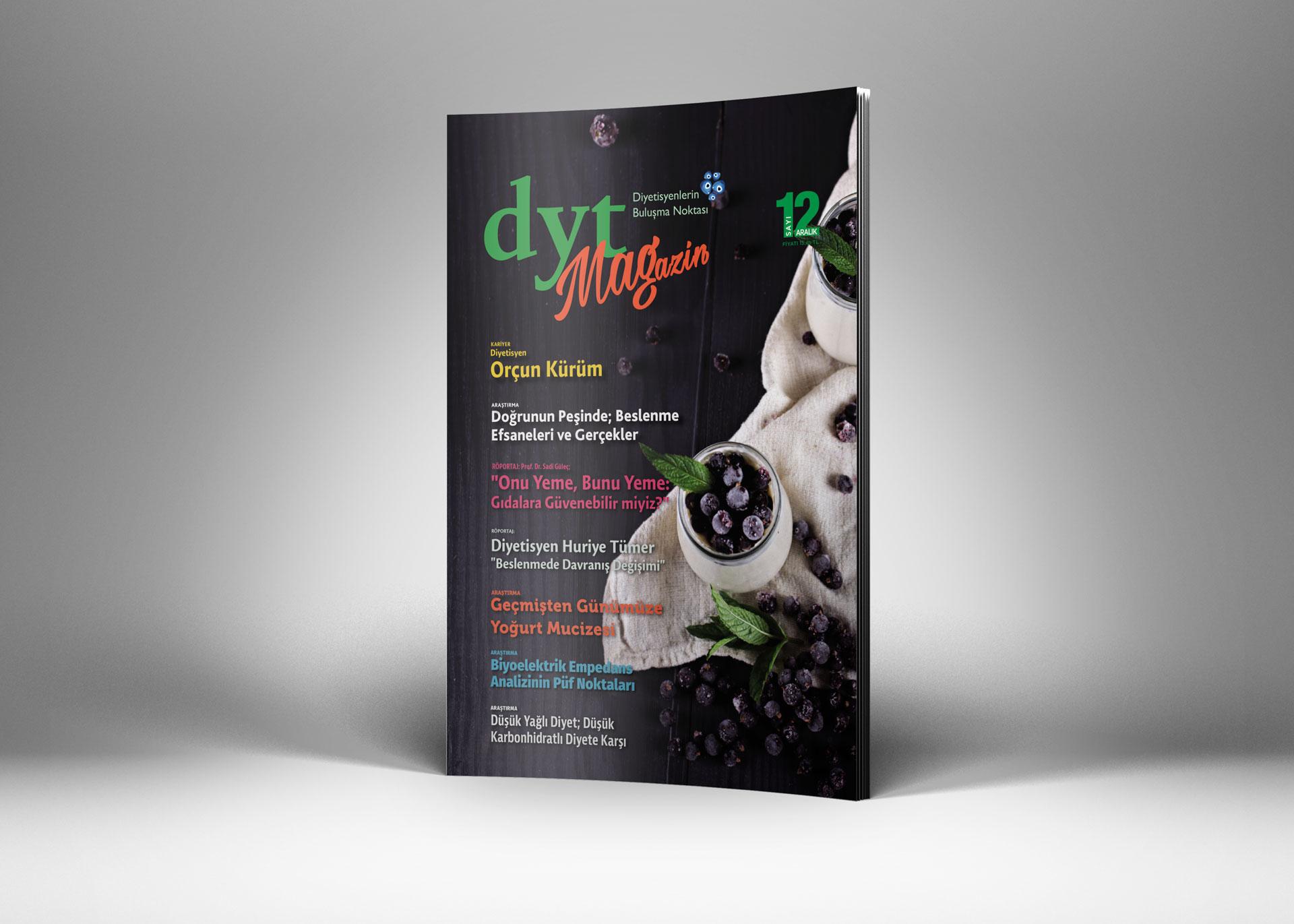 DytMagazin Dergi Tasarımı Sayı 12