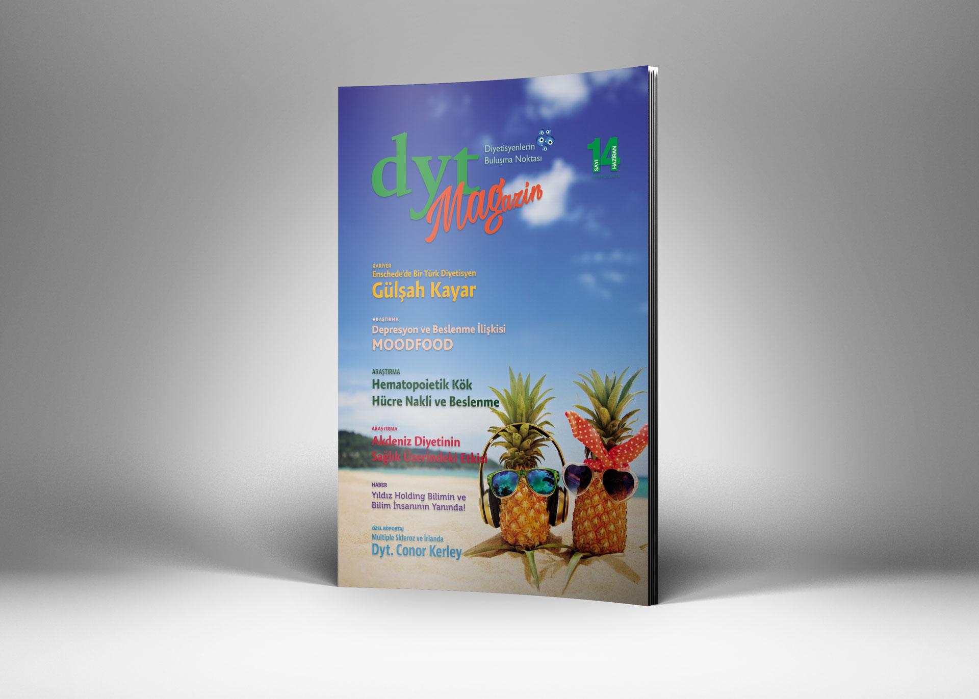 DytMagazin Dergi Tasarımı Sayı 14